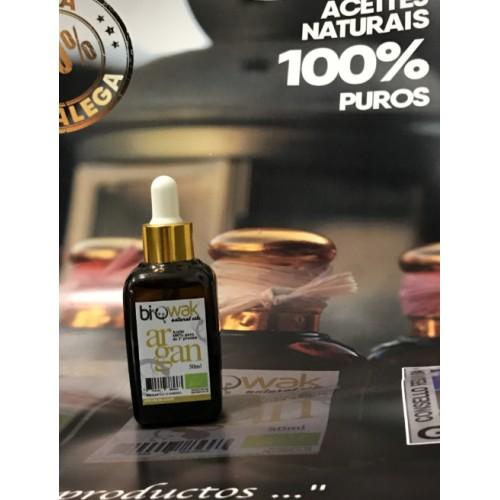 Aceite V. de Argán Biowak 100% puro