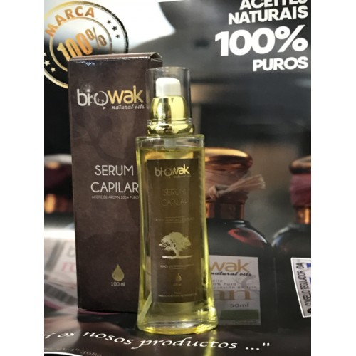 Serum capilar Biowak, 100% Natural, 100ml