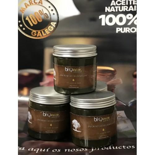 Jabón negro con aceite de Argán 100% natural
