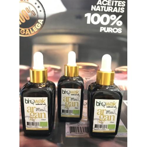 Pack 3 unidades Aceite de Argán 100% puro con certificado Ecológico Europeo