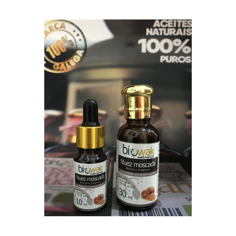 Aceite esencial de Nuez Moscada Bio