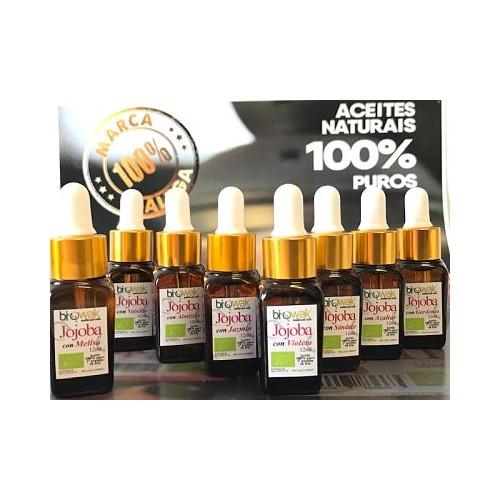 Aceite de Jojoba Bio con aceite esencial de Violeta