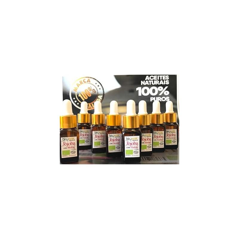 Aceite de Jojoba Bio con aceite de Violeta